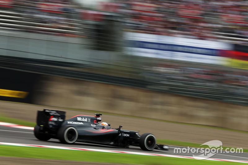 16. Fernando Alonso, McLaren MP4-31