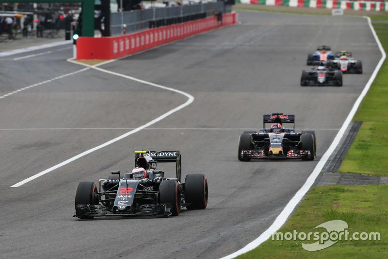 18. Jenson Button, McLaren MP4-31