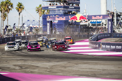 Scott Speed, Andretti Autosport Volkswagen, Tanner Foust, Andretti Autosport Volkswagen lead