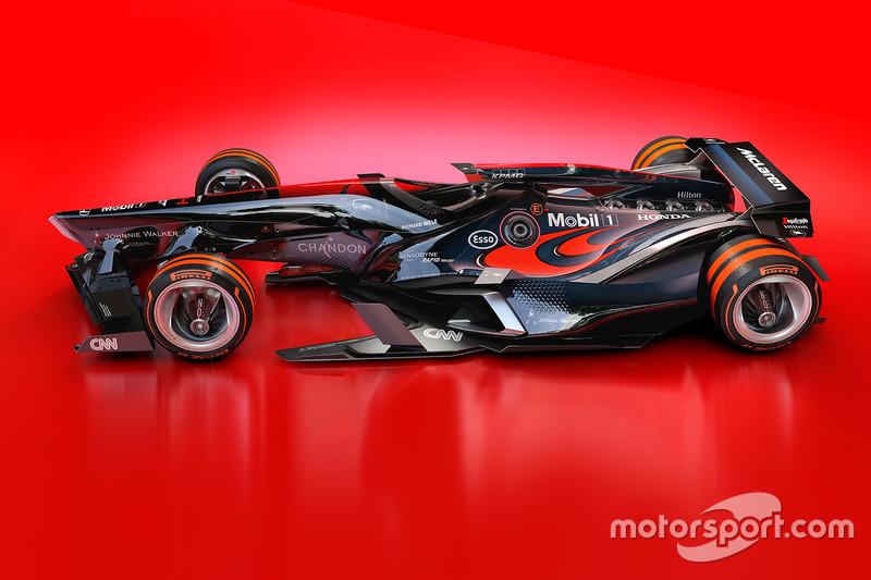 Designstudie: McLaren 2030