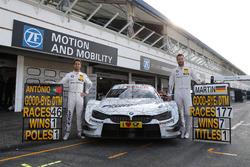 Ultime gare in DTM per António Félix da Costa e Martin Tomczyk, BMW Team Schnitzer