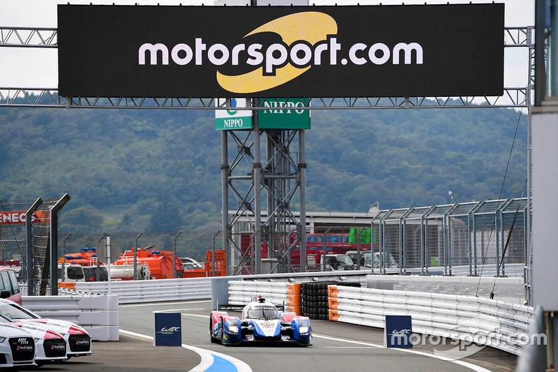 8. LMP2: #27 BR01 - Nissan: Maurizio Mediani, Nicolas Minassian, Mikhail Aleshin
