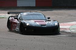 Villeneuve Chicane; #47 DKR Engineering Corvette Z06: Michael Rossi, Jaime Camara