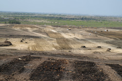 Construction of the Circuit of the Americas in Austin, home of United States Grand Prix starting in 2012