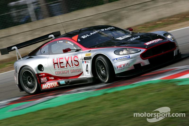 #4 Andrea Piccini, Christian Hohenadel; Aston Martin DB9; Hexis AMR
