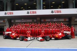 Scuderia Ferrari team picture