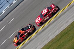 Jamie McMurray, Earnhardt Ganassi Racing Chevrolet, Juan Pablo Montoya, Earnhardt Ganassi Racing Chevrolet