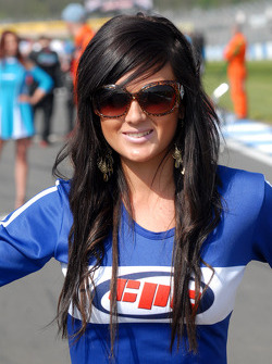 Geoff Steel Racing Grid Girl