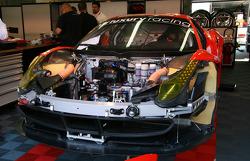 El #59 Luxury Racing Ferrari 458 Italia