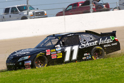 Brian Scott gets into a mid race accident