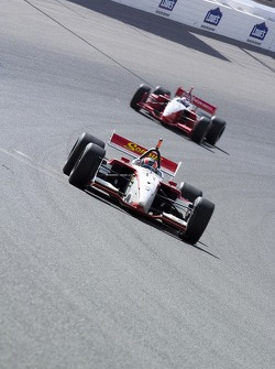 Ricardo Sperafico and Jimmy Vasser