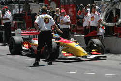 Sébastien Bourdais waits for qualifying