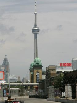 Qualifying action at Toronto