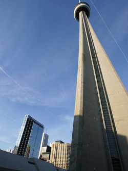 The spectacular CN Tower
