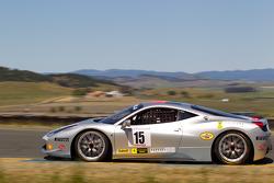 #15 Ferrari of San Diego Ferrari 458 Challenge: Juan Barazi