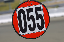 Pit board for #55 Boardwalk Ferrari/Level 5 Ferrari 458 Challenge: Scott Tucker