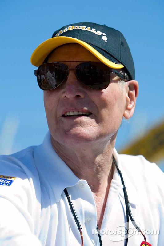 Le propriétaire de l'équipe Champ Car et acteur Paul Newman
