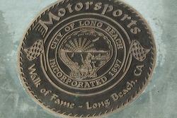 Walk of Fame - Long Beach, plaque