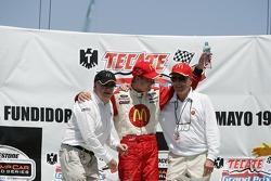 Carl Haas, Sébastien Bourdais, Paul Newman