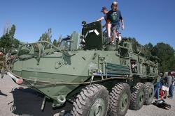 Canadian Army display