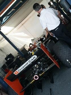 The 2007 DP01 Champ Car