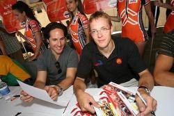 Mario Dominguez and Sébastien Bourdais