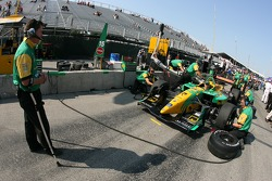 Pitstop practice at Team Australia Racing