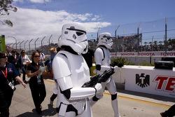 Stormtroopers aseguran la parrilla