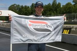 Pole winner Tristan Gommendy celebrates