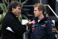 Sebastian Vettel, Red Bull Racing, Pasquale Lattuneddu, FOM, Formula One Management