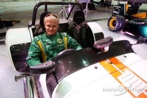 Heikki Kovalainen in the Caterham 7