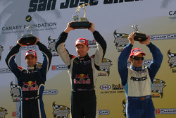 Neel Jani, Robert Doornbos and Oriol Servia