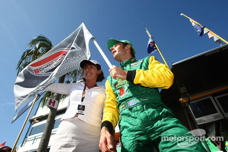 Will Power takes pole for the Lexmark Indy 300 (Team Australia)