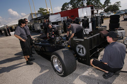 PKV Racing team members at work