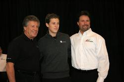 Mario, Marco et Michael Andretti