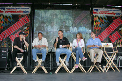 The ABC Sports team that covers Indycar action on the air answers questions from the audience for the XM stage