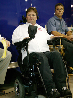 Menards Infiniti Pro Series team owner Sam Schmidt