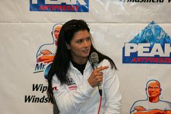 Press conference: Danica Patrick