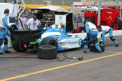 Hemelgarn Racing pit area