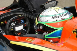 Tomas Scheckter in the car marked for Tomas Enge
