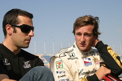Dario Franchitti and A.J. Foyt IV