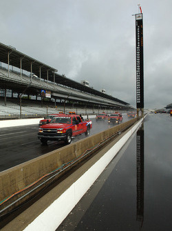 Another rainy day at Indy