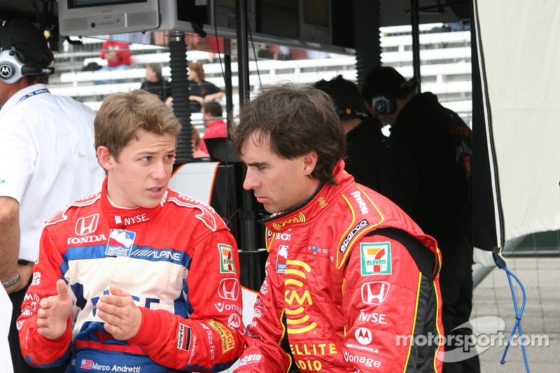 Marco Andretti et Bryan Herta