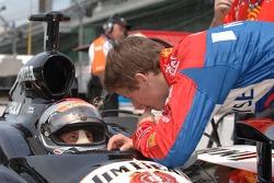 Michael Andretti and Marco Andretti