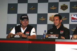 Rick Mears and Helio Castroneves