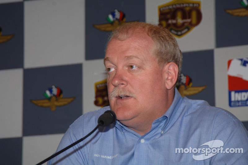 Jeff Horton, directeur de l'ingénierie de Indy Racing League