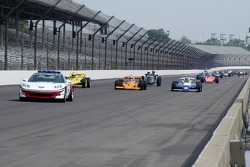 Vintage racers: Corvette pace car leads the field of classic racers