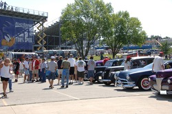 Hot rods on display