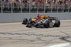 Dario Franchitti and Bryan Herta