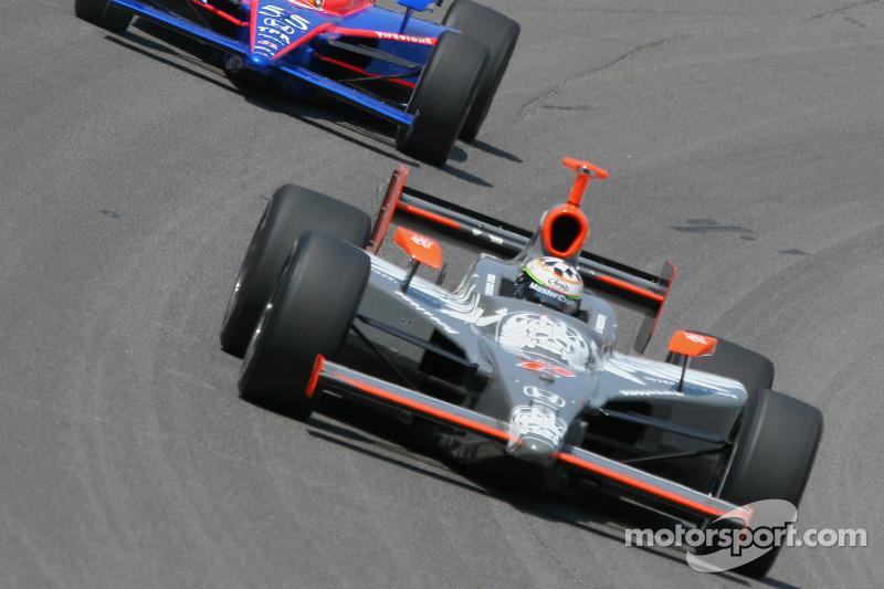 Tomas Scheckter et Kosuke Matsuura